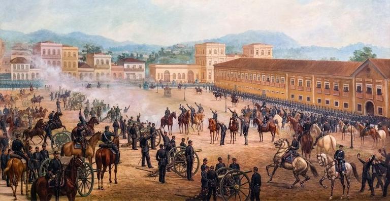 Em 15 de novembro de 1889, o Brasil deixava de ser uma monarquia e se tornava uma república