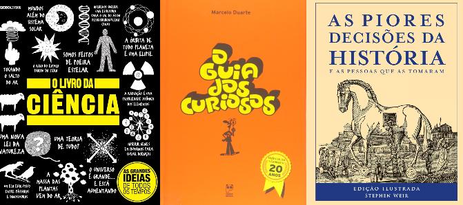 Selecionamos 10 livros que ensinam de forma simples, divertida e didática